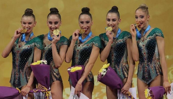 злато чудо художествена гимнастика
