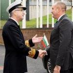 президентът Радев военни