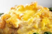 сарма с пилешко месо, ориз и топено сирене