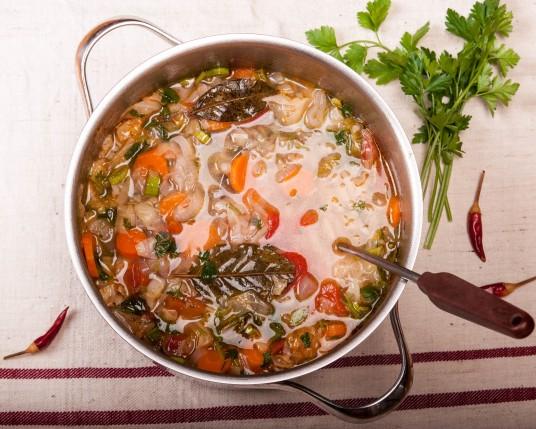 зелева детокс супа