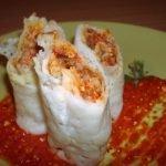 оризови палачинки със сос Болонезе
