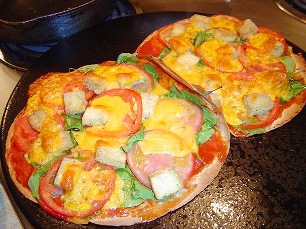 пица-тортиля по гръцки