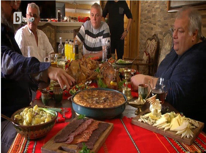 българин храна