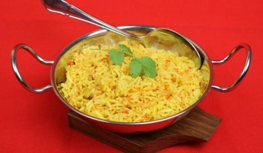 жълт ориз по индийски