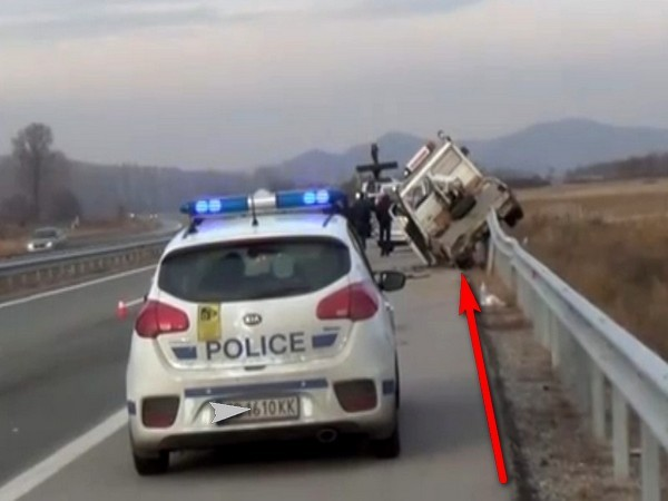 """катастрофа """"Пътна помощ"""""""