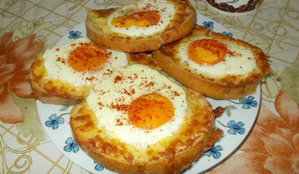 сиромашка вечеря с яйца