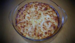 огретен с картофи, сирене и кашкавал