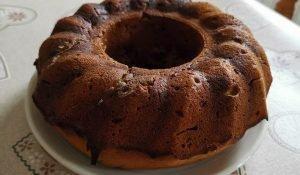делничен кекс с какао