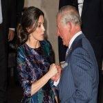кралица Летисия и принц Чарлз