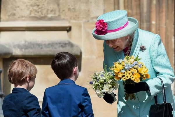 британската кралица
