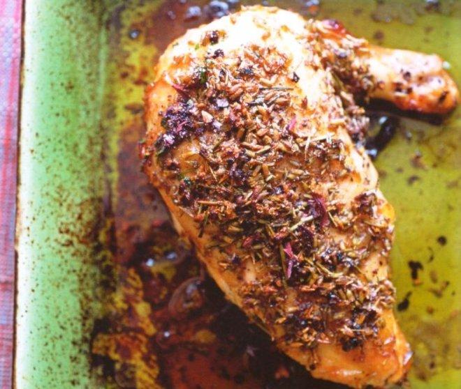 пилешки гърди в меден сос