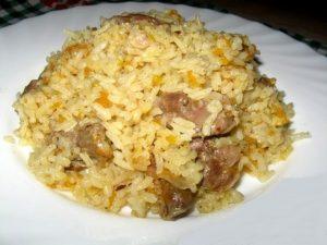 пилешки воденички с ориз