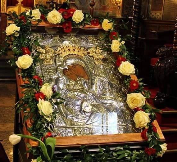 икона Пресвета Богородица чудеса