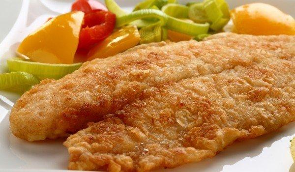 пържена панирана риба