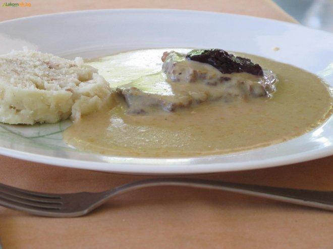 телешки пържоли във френски сос