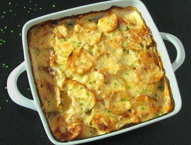 запечени картофи по италиански