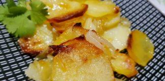 подлучени картофи на фурна