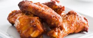 пилешки крилца с Фанта