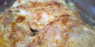 пилешко филе с кашкавал