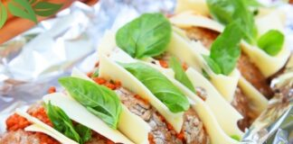 италиански хляб с ементал и песто