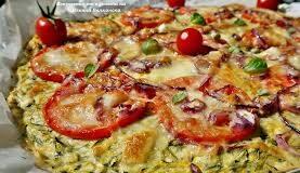 пица с блат от тиквички