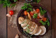 глазирано пилешко филе