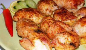 пилешки рулца