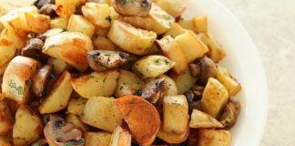 картофи с лук и гъби