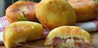 питки с шунка и сирене
