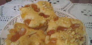 сладкиш с локум и орехи