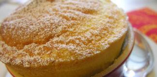 суфле с лимон и ванилия