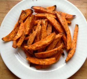 сладки картофи на фурна