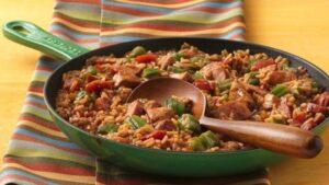свинско с ориз по испански