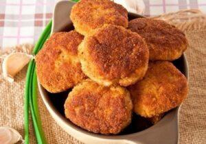 картофени кюфтета с гъбки