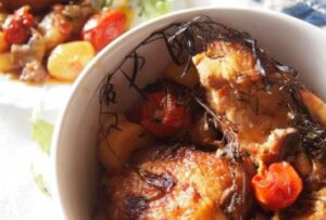 печено пиле по селски