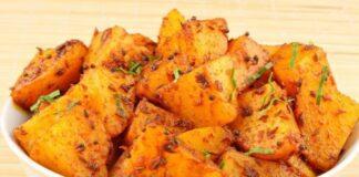 картофи с джинджифил