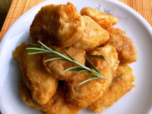 чеснови пилешки хапки