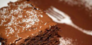 сладкиш с течен шоколад