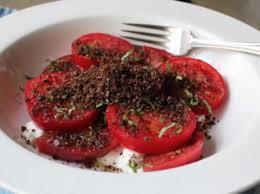 мръсна доматена салата