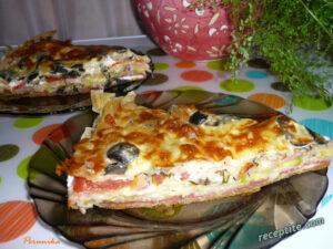 пица с кори за баница