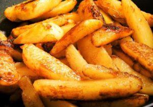 карамелизирани картофки