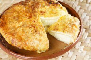 пита със сирене и сметана