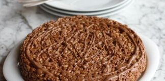 оризов кекс с шоколад
