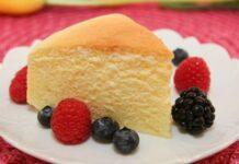 японски сладкиш с крема сирене