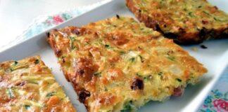 зеленчуков кекс с яйца