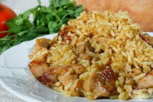 пилешки хапки с ориз