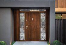 модерна входна врата за къща