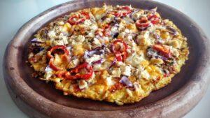 пица с блат от яйца