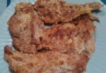 пиле с майонеза